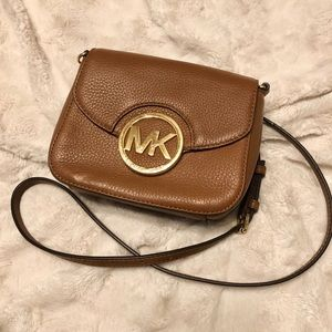 Michael Kors Fulton Small Leather Crossbody